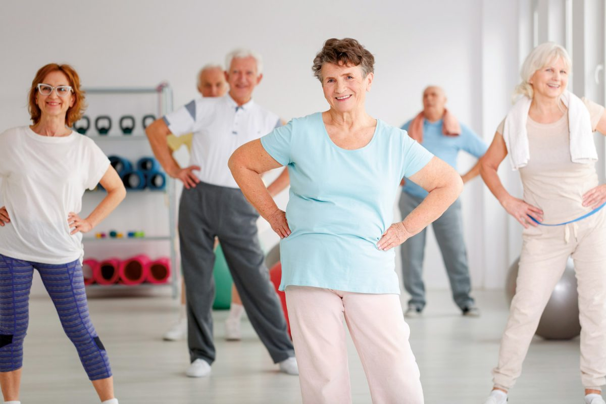 Over 60s personal trainer in Hove