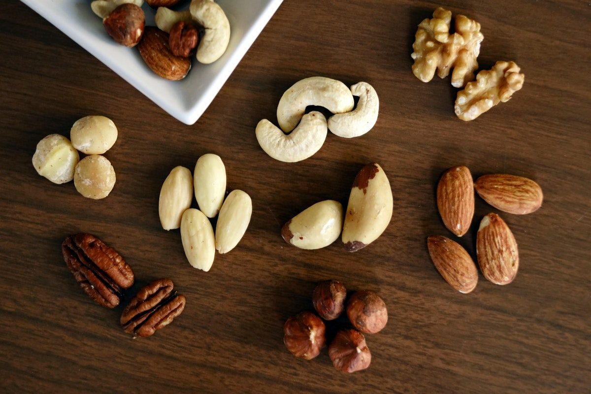 Nuts for healthy fats