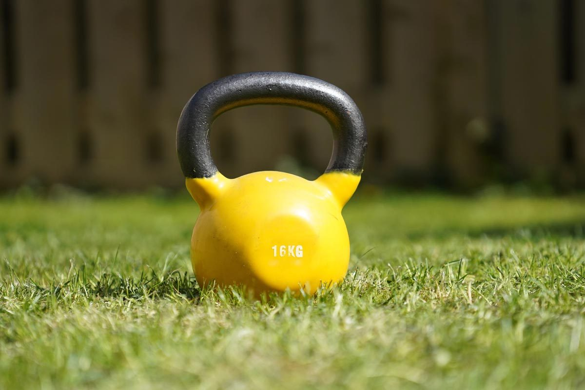 Gavin O'brien who is a personal trainer in Hove uses Kettlebells