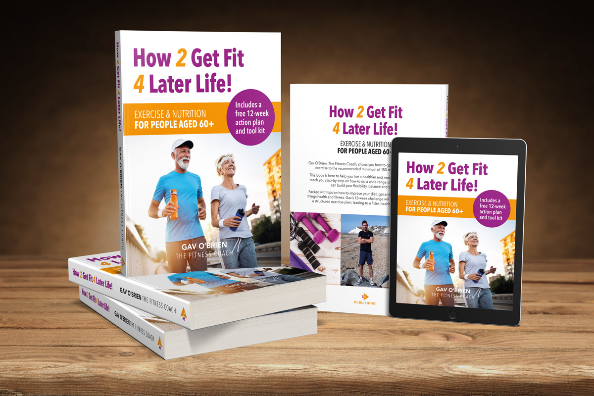 How 2 Get Fit 4 Later Life book by Gavin O'Brien