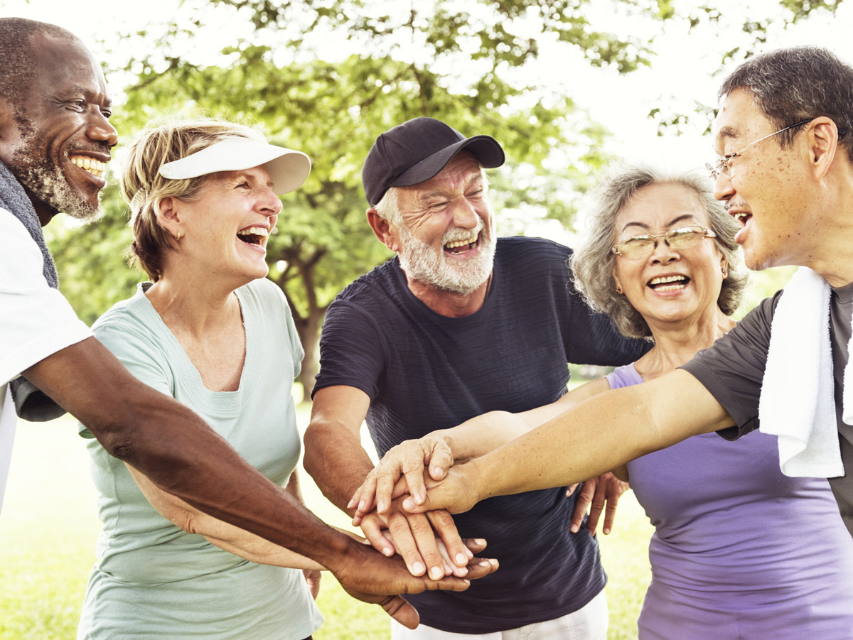 How 2 Get Fit 4 Later Life is aimed at the over 60s